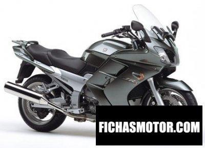 Ficha técnica Yamaha fjr 1300 2004