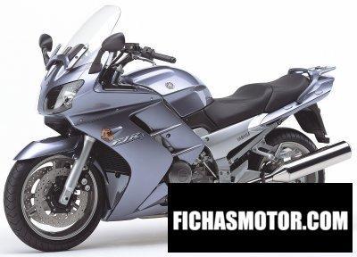 Ficha técnica Yamaha fjr 1300 2005