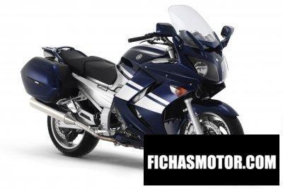 Imagen moto Yamaha fjr 1300 a año 2007