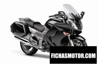 Ficha técnica Yamaha fjr 1300 ae 2009