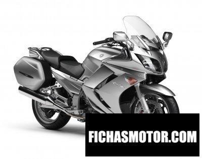 Ficha técnica Yamaha fjr1300a 2012