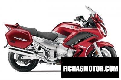 Ficha técnica Yamaha fjr1300a 2014