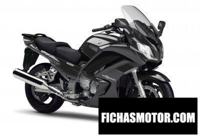 Ficha técnica Yamaha fjr1300a 2015