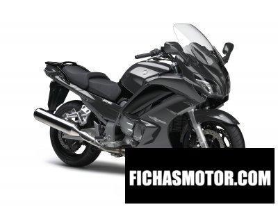 Ficha técnica Yamaha fjr1300a 2016