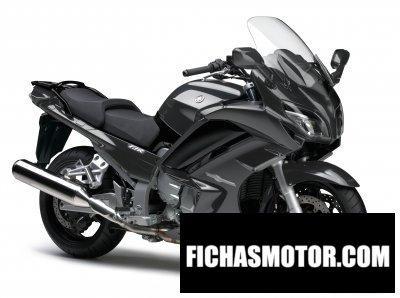 Ficha técnica Yamaha fjr1300a 2017