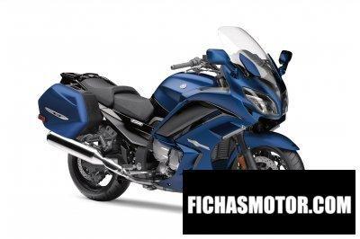 Imagen moto Yamaha fjr1300a año 2018