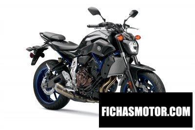 Imagen moto Yamaha fz-07 año 2015