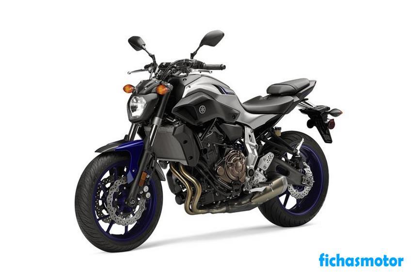 Ficha técnica Yamaha fz-07 2016