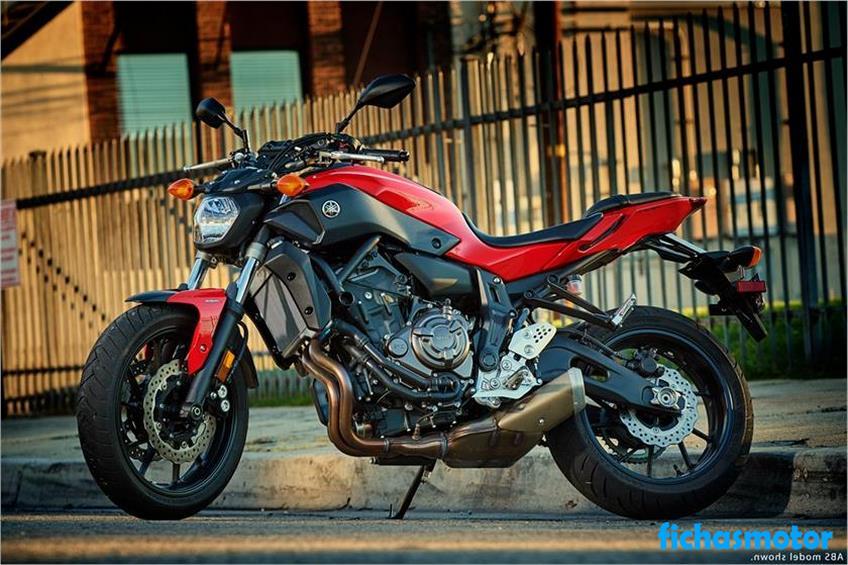 Imagen moto Yamaha fz-07 año 2017