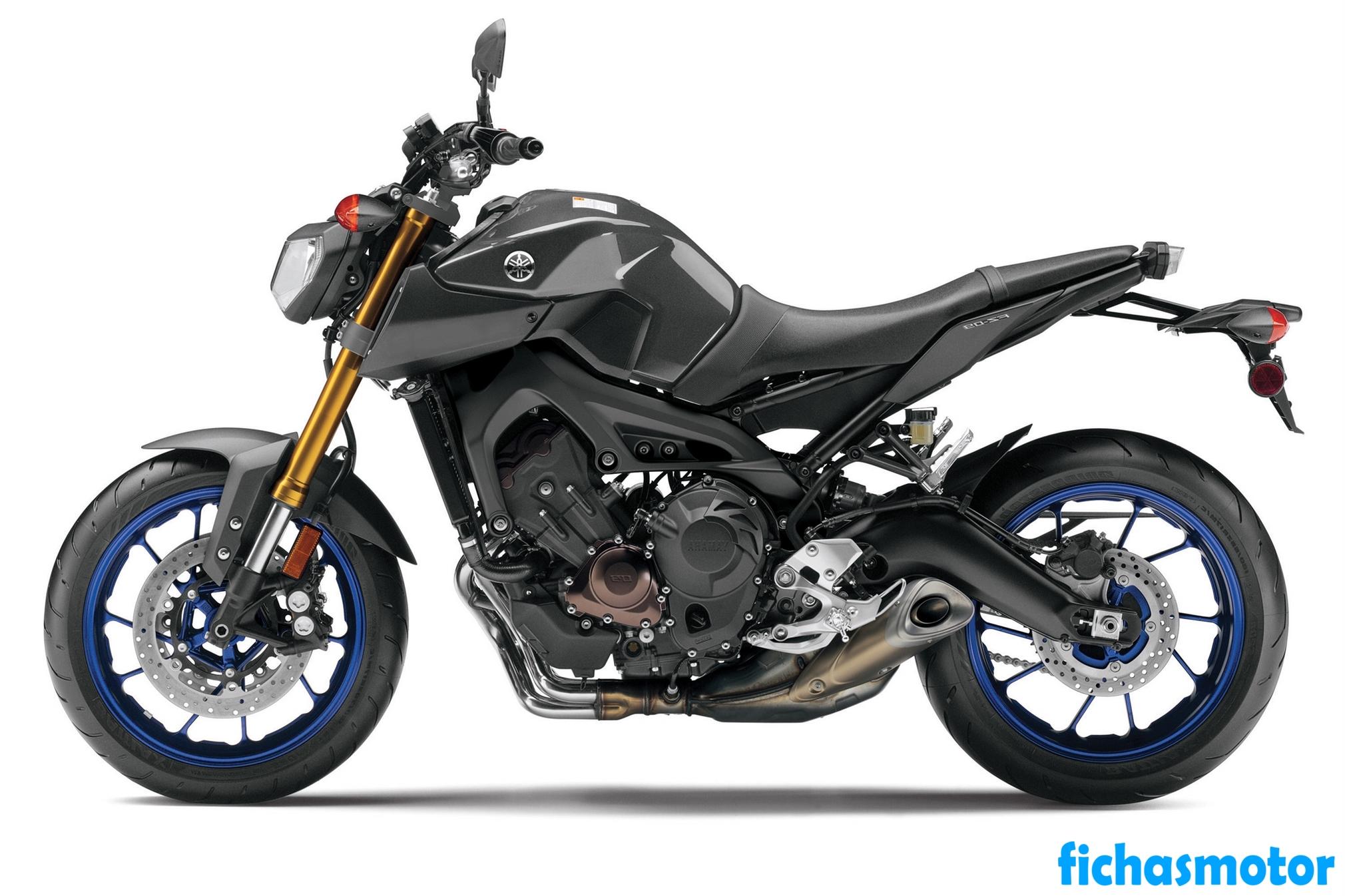 Ficha técnica Yamaha fz-09 2014