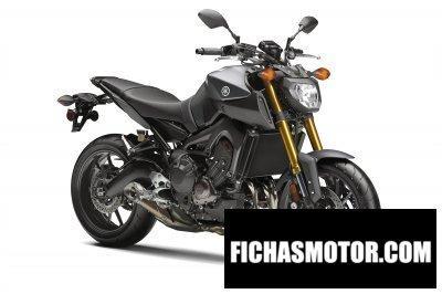 Ficha técnica Yamaha fz-09 2015