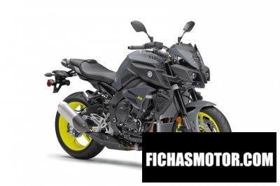Ficha técnica Yamaha fz-10 2017