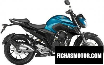 Ficha técnica Yamaha fz 25 2018