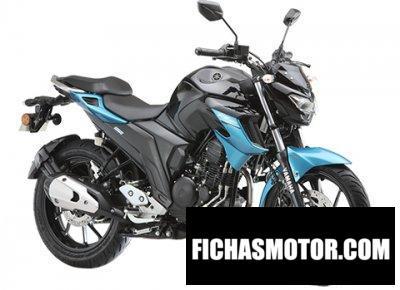 Ficha técnica Yamaha FZ 25 2020