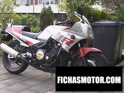 Ficha técnica Yamaha fz 750 1985