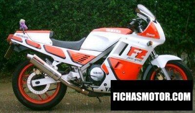 Imagen moto Yamaha fz 750 año 1986