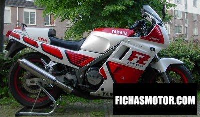 Ficha técnica Yamaha fz 750 1988