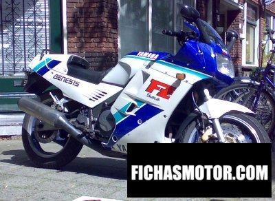 Ficha técnica Yamaha fz 750 1989
