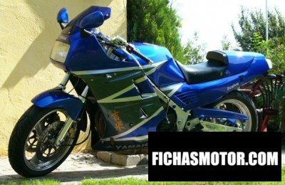 Imagen moto Yamaha fz 750 año 1991