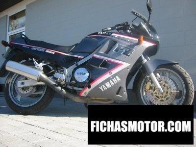 Ficha técnica Yamaha fz 750 1992