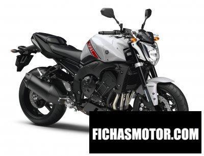 Ficha técnica Yamaha fz1 2015