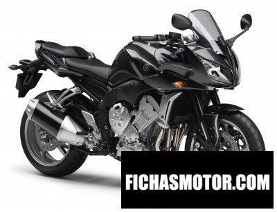 Imagen moto Yamaha fz1 fazer año 2008