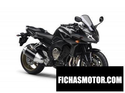 Ficha técnica Yamaha fz1 fazer 2009