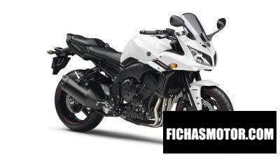 Ficha técnica Yamaha fz1 fazer 2014