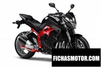 Ficha técnica Yamaha fz1-n 2012