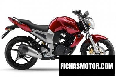 Imagen moto Yamaha fz16 año 2011