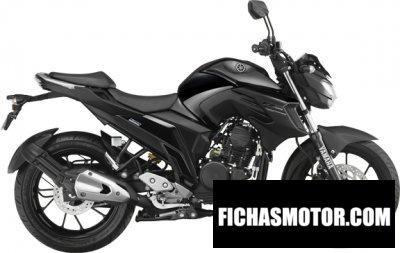 Ficha técnica Yamaha fz25 2017