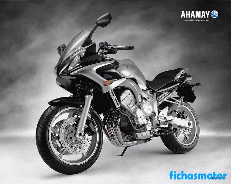 Ficha técnica Yamaha fz6 2005