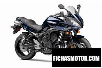 Ficha técnica Yamaha fz6 2010