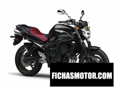 Ficha técnica Yamaha fz6n 2011