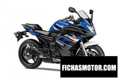 Ficha técnica Yamaha fz6r 2013