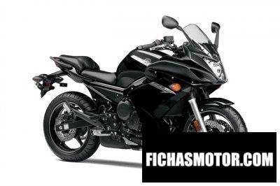 Ficha técnica Yamaha fz6r 2014
