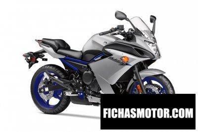 Ficha técnica Yamaha fz6r 2018