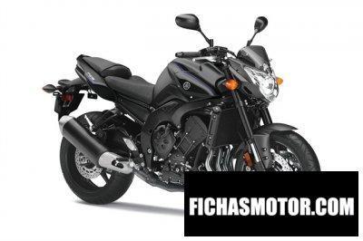 Imagen moto Yamaha fz8 año 2014