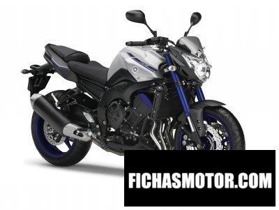 Imagen moto Yamaha fz8 año 2015