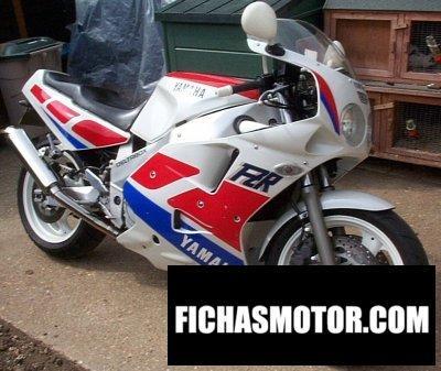 Ficha técnica Yamaha fzr 1000 1990