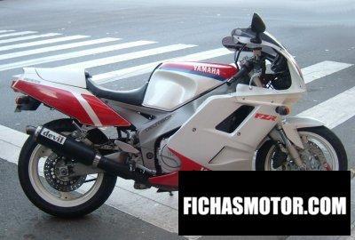 Ficha técnica Yamaha fzr 1000 1992