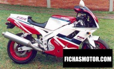 Ficha técnica Yamaha fzr 1000 1993
