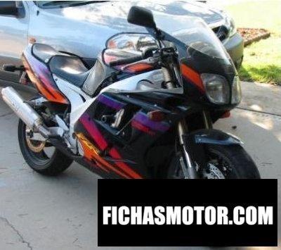 Imagen moto Yamaha fzr 1000 año 1994