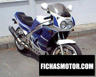 Ficha técnica Yamaha fzr 1000 genesis 1987