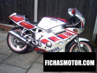 Ficha técnica Yamaha fzr 400 1988