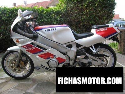 Ficha técnica Yamaha fzr 400 1989