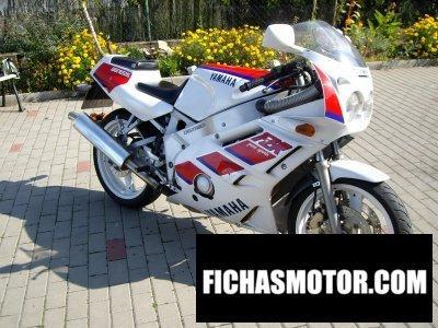 Ficha técnica Yamaha fzr 400 r genesis 1993
