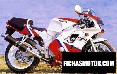 Ficha técnica Yamaha fzr 400 rr 1991