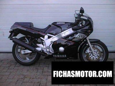 Ficha técnica Yamaha fzr 600 1989