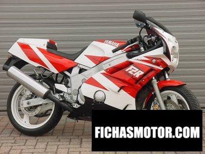 Ficha técnica Yamaha fzr 600 1990